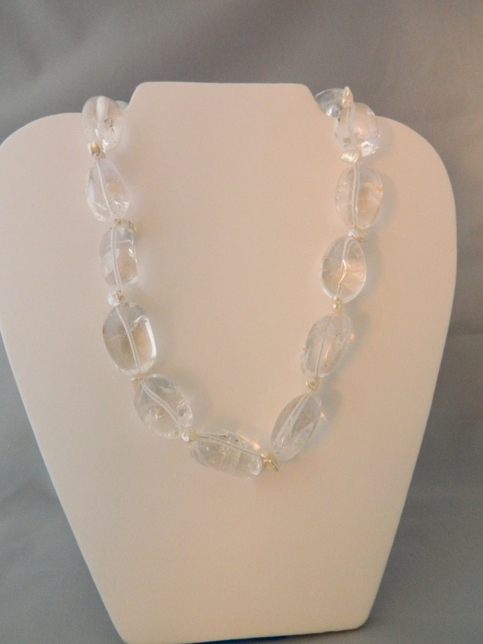 Arden Jewelry design quartz and pearl necklace